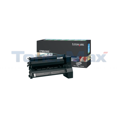LEXMARK C782 XL PRINT CARTRIDGE BLACK RP 16.5K